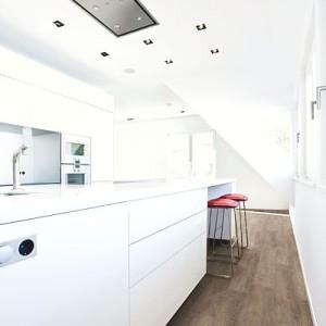 Conceptline 3038 Limed Oak, brownish kitchen