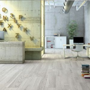 Finfloor Original laminaat Babylon white saw cut